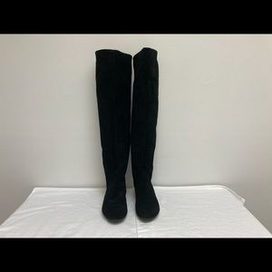 Nine West Suede Over The Knee Boots